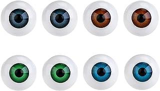 WINOMO 8PCS Hollow Eyeball Mask Halloween Horror Props Costume Plastic Eyeballs for Halloween