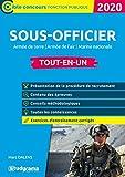 Sous-officier de l'armée - Armée de terre, armée de l'air, marine nationale, tout-en-un