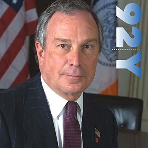 Mayor Michael Bloomberg at the 92nd Street Y audiobook cover art