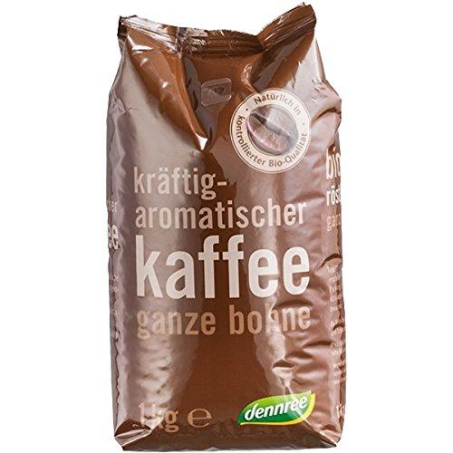 dennree Röstkaffee, ganze Bohne (1 kg) - Bio