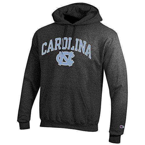 Elite Fan Shop North Carolina Tar Heels Hooded Sweatshirt Varsity Charcoal - XX-Large