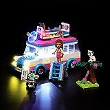 BRIKSMAX Kit di Illuminazione a LED per Lego Friends Veicolo delle Missioni di Olivia, Compatibile con Il Modello Lego 41333 Mattoncini da Costruzioni - Non Include Il Set Lego
