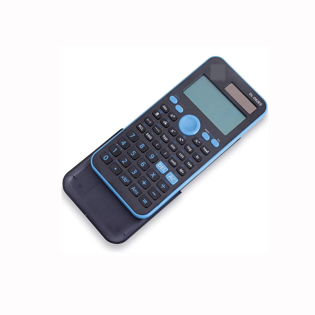 ウェイド組中絶オフィス電卓 関数電卓ソーラーデュアルパワー多機能学生試験科学コンピュータポータブルカウンタ仕様:170mmx85mmx20mm