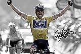 Lance Armstrong Signed Foto Print–großartige