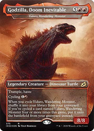 Magic : The Gathering MTG - Yidaro, Wandering Monster - Godzilla, Doom Inevitable - Ikoria: Lair of Behemoths XIKO 375/388 Foil English