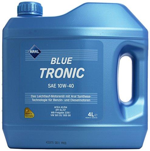 ARAL BlueTronics 10W-40 Motorenöl, 4 Liter