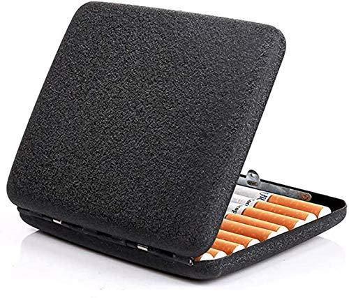 Gymqian Caja de Cigarrillos la Forma Curvada E Está Diseñada para la Mayoría de Los Bolsillos de Ropa, Portátiles para Llevar Portátil