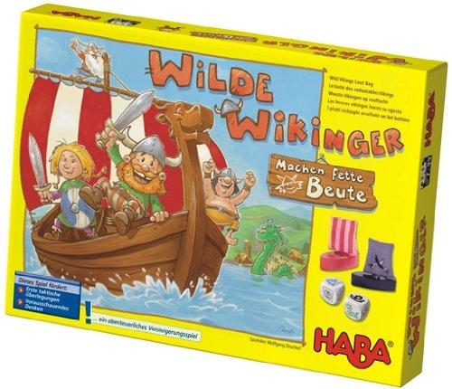 HABA 4282 Familienspiel - Wilde Wikinger Machen fette Beute