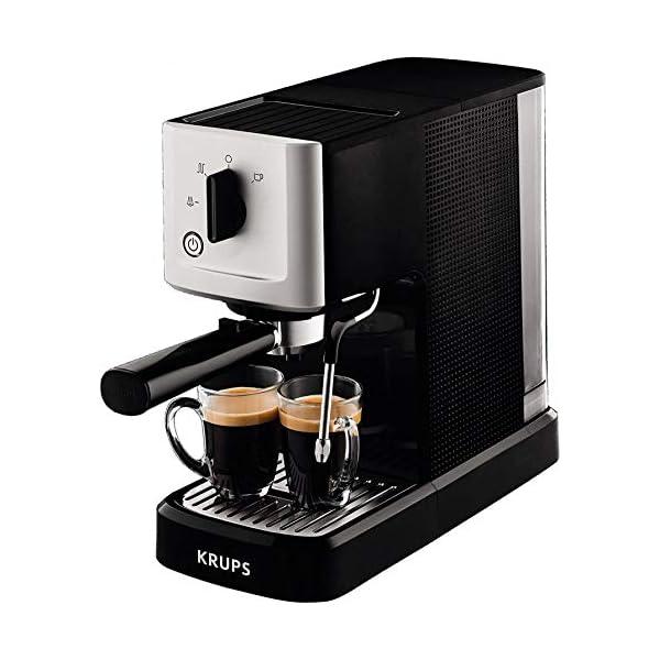 Espresso-Siebträgermaschine Angebot Krups XP3440 Espresso-Automat Calvi
