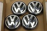 Juego de 4 tapacubos originales de Volkswagen Golf Passat Touran 3B7601171 para llantas de aleación FA2311