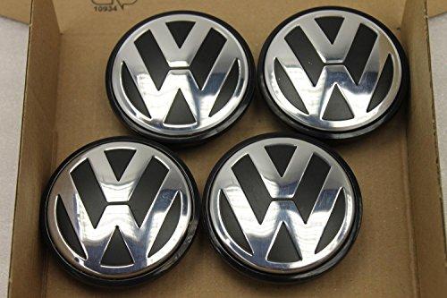 4 Stk Original VW Golf Passat Touran 3B7601171 Nabendeckel für Alufelgen FA2311