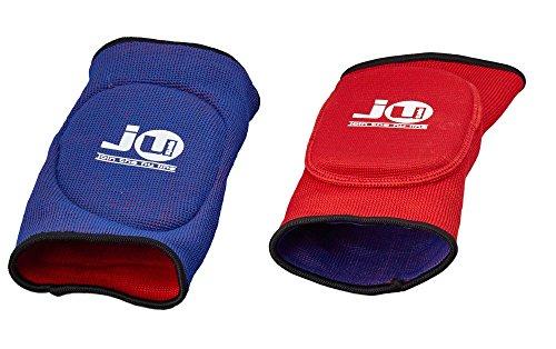 Ju-Sports Wende-Ellenbogenschoner rot/blau Stoff