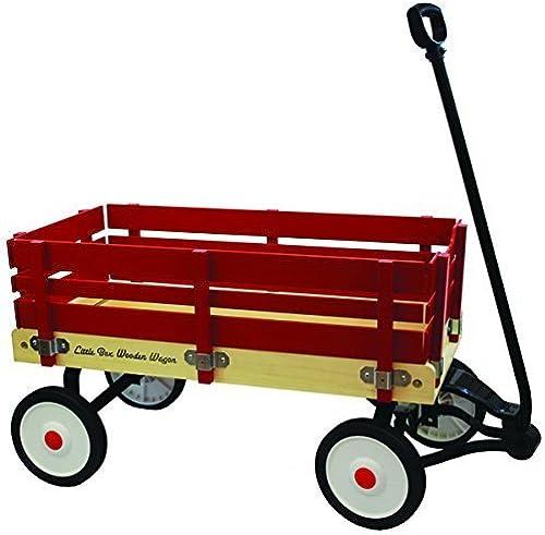 entrega rápida Little Box 34 Inch Wood Paneled Wagon by by by Enertec  barato y de moda