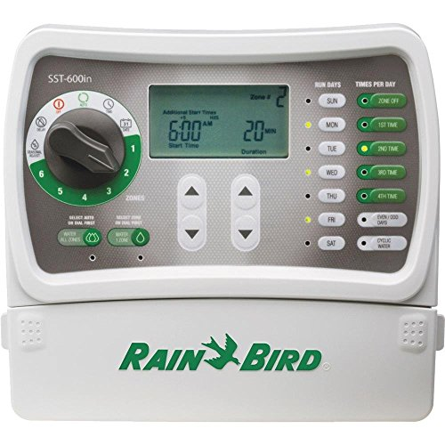 Rain Bird SST600I Simple To Set Indoor Timer, 6-Zone (Discontinued by...