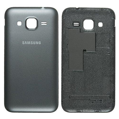 Original Samsung copribatteria Nero/Nero per Samsung G360F Galaxy Core Prime (Batteria vano Coperchio, Batteria Copertura, Retro, Back-Cover) - GH98-35531B