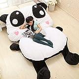 Panda Pandabed Cama 170 cm x 135 cm x 45 cm Puf Gigante Ultra Suave Peluche Regalos de Cumpleaños de Navidad