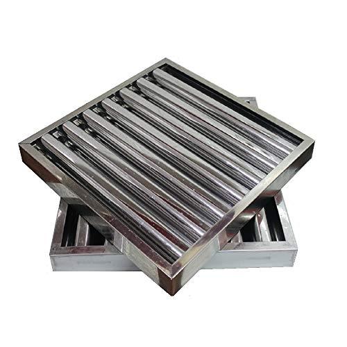 Filtro campana extractora bar industrial 490 x 490 x 50 mm.