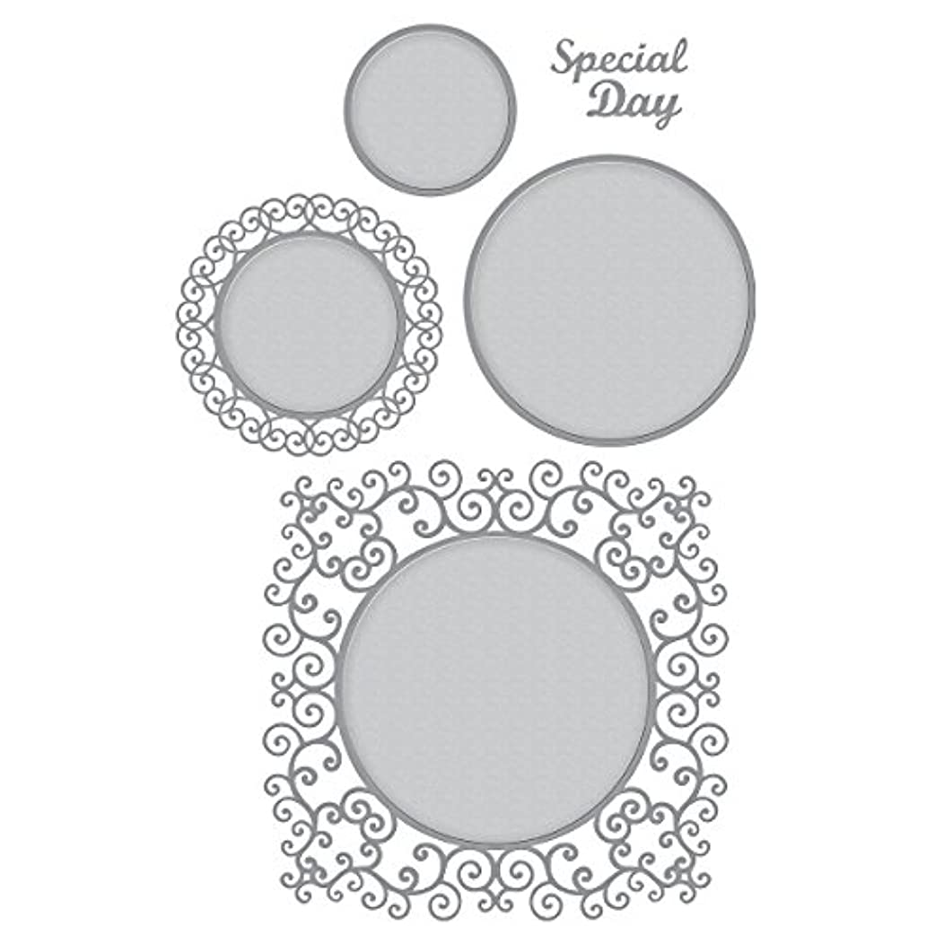 Spellbinders S5-374 Shapeabilities Special Day Frame Etched/Wafer Thin Dies
