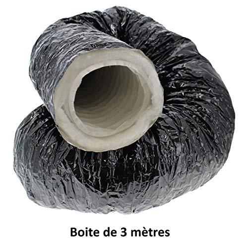 Gaine Flexible Aluminium insonoris/é 127mm acoustique Sonoconnect 5m