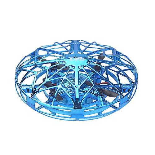 Lihgfw UFO Inductie vliegtuigen afstandsbediening te vierassige Drone kleine vliegtuigen Boy Bestand tegen Suspension Flying Saucer Kinderspeelgoed