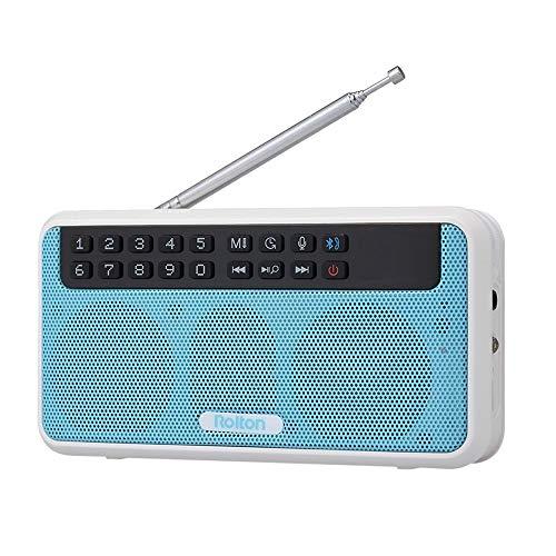 Bewegliche Digital-FM-Radio mit LED-Anzeige Stereo-Musik-Player-drahtlose Bluetooth Lautsprecher (Color : A)