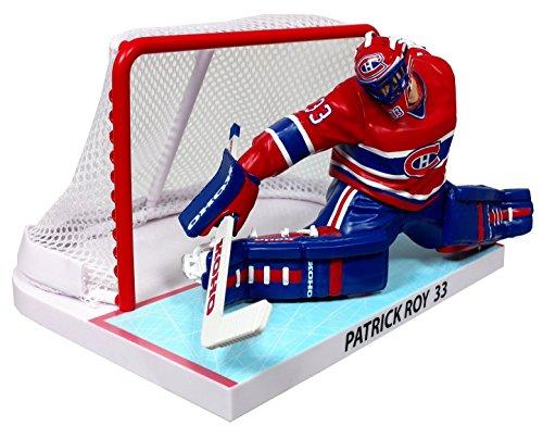 Imports Dragon 1993/94 Patrick Roy Montreal Canadines NHL Figur mit TOR (16 cm)