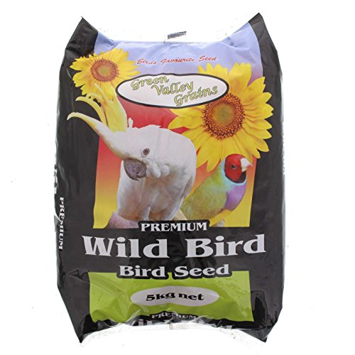 Green Valley Grains Wild Bird Mix Food 5 kg, 5 Kilograms