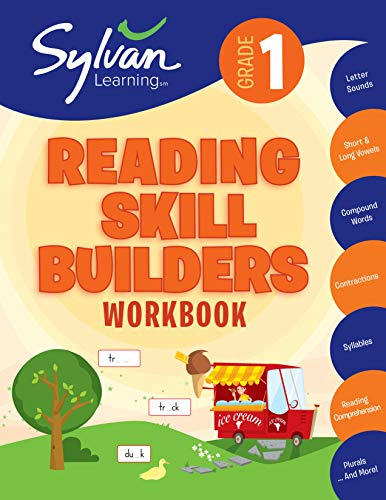 1st Grade Reading Skill Builders Activities Exercises And Tips To Help Catch Up Keep Up And Get Ahead Sylvan Language Arts Workbooks