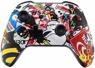 Xbox One Wireless Controller for Microsoft Xbox One - Custom Soft Touch Feel - Custom Xbox One Controller (Sticker Bomb)