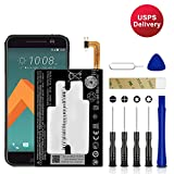 for HTC 10 Lifestyle Replacement Battery, for B2PS6100 Battery with Adhesive Tape Tool Repair Kit