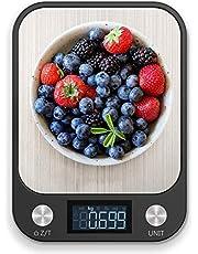 ميزان الطعام رويال بولار، ميزان مطبخ رقمي متعدد الوظائف، دقة عالية في حساب وزن الطعام إلكترونياً مع شاشة ال سي دي كبيرة، لوح من الاستانليس ستيل، نحيف للغاية، من 11 رطل / 5 كجم إلى 33 رطل / 15 كجم