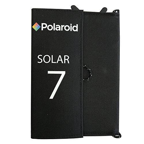 Polaroid powerbank/zonne-element 7 W, zonnepaneel. zwart
