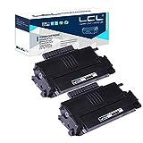LCL Compatible Cartucho de tóner 407166 407165 SP100E SP112SU SP112SF SP112 (2 Negro) 1200 Páginas Reemplazo para Ricoh Aficio SP 100 Aficio SP 100E Aficio SP 100SU Aficio SP 100SF Aficio SP 112