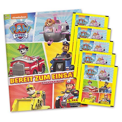 P. Patrol Bereit zum Einsatz Sammelset Album + 5 Booster Tütchen - 25 Sticker deutsche Ausgabe