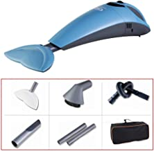 Portable Car Vacuum Cleaner Wireless Rechargeable High Power Automotive Power Small Mini Car Home Dual Purpose Car Vacuum Cleaner (Color : Blue)