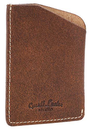Gusti Cuero Studio Marion Portatarjetas de Cuero Auténtico Billetes Tarjetero Cartera de Piel Estilo Vintage Identificación 2A125-33-1