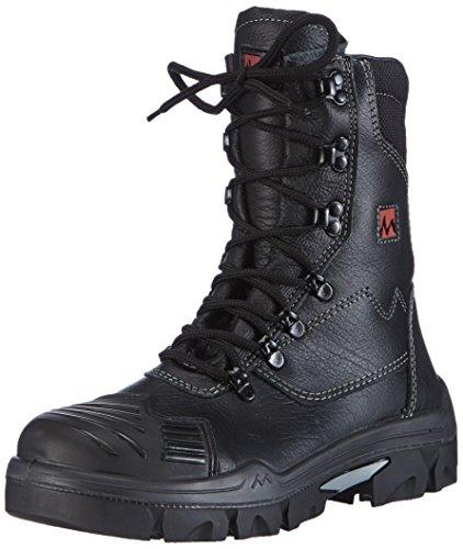 MTS Unisex-Erwachsene Sicherheitsschuhe M-Gecko Taurus S3 Flex ÜK HI/CI 16111 Sicherheitsstiefel, Schwarz (schwarz), 41 EU