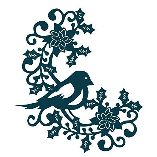 Pixie DIY boomschroef vogel metalen frame voor het sterven van doe-het-zelf scrapbooking muren reliëf papier maken decoratieve ambachten
