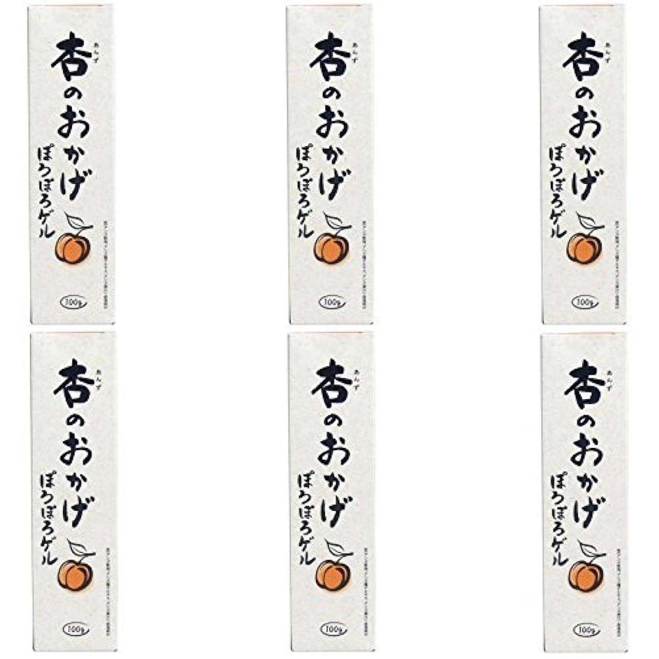 エロチック時期尚早買う【まとめ買い】杏のおかげ ぽろぽろゲル 100g【×6個】