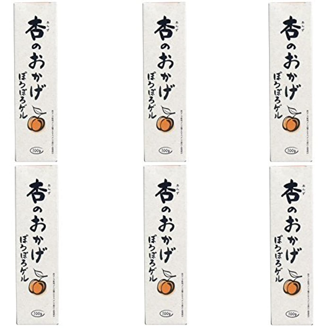 熟練した練習ブランド【まとめ買い】杏のおかげ ぽろぽろゲル 100g【×6個】