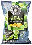 Red Rock Deli Lime and Black Pepper Potato Chips, 12 x 165 Grams