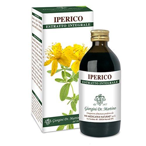 Dr. Giorgini Integratore Alimentare, Iperico Estratto Integrale Liquido Analcoolico - 200 ml