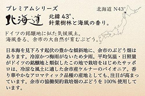 日本ワイングランポレール余市ツヴァイゲルトレーベ[赤ワインミディアムボディ日本750ml]