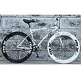 YXWJ Camino de la Bicicleta de la Bici de 26' Pulgadas de Bicicletas de montaña Marca Bicicletas Delantero y mecánico del Freno de Disco Trasero de la Bici for el Hombre y la Mujer