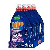 Wipp Express Detergente Líquido Lavanda para lavadora 30 Lavados - Pack de 4, Total: 120 Lavados