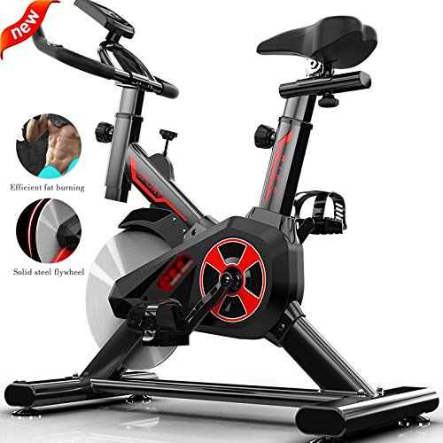 Hometrainer Bicycle Hometrainer Step Stille Hometrainer Voor Thuis Sportfietsen Voor Dames En Heren Fitnessapparatuur Voor Gewichtsverlies (Color : Black, Size : 110 * 85 * 45cm)