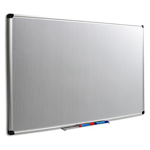 Master of Boards Magnetic Memo Board - Dual Function Pin Board with Stable Aluminium Frame | 1'6