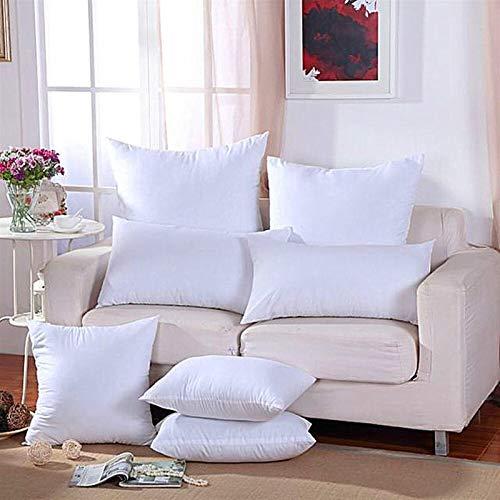 N\A Almohada Cervical 11SIZE para Sofa Coche Cuidado DE Cuidado SOBLERO Relleno 45x45 Cojín Decorativo Interior PP de algodón de algodón Lanzamiento de Cojines de núcleo Sleep Confort Almohada