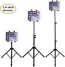 Rubik iPad Tripod Stand, Height Adjustable Foldable Floor Tablet Tripod Stand for Samsung, Apple iPad Pro 12.9, Ipad Air 10.5, iPad Mini, iPad 1,2,3,4 and All 7-13 Inch Tablets With Carrying Case