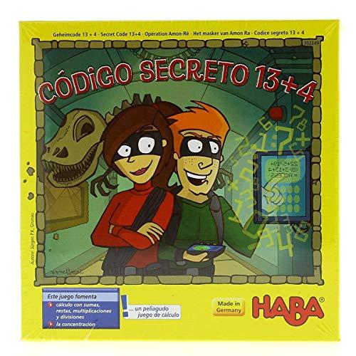 HABA- Código Secreto 13 + 4 Juego de Mesa, (302249)